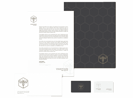 Business stationery example 2