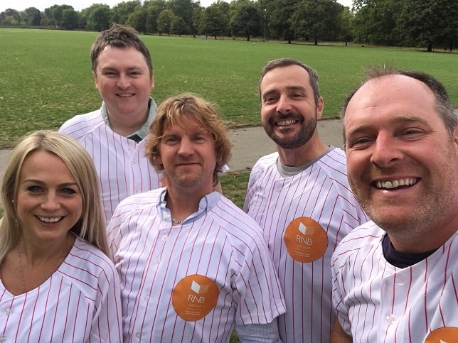 London Charity Softball League Sponsorship