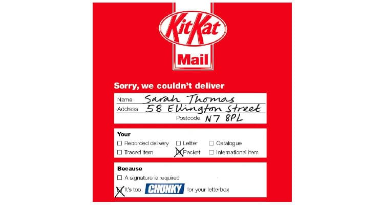 Direct Mail Done Right No.4 | KitKat