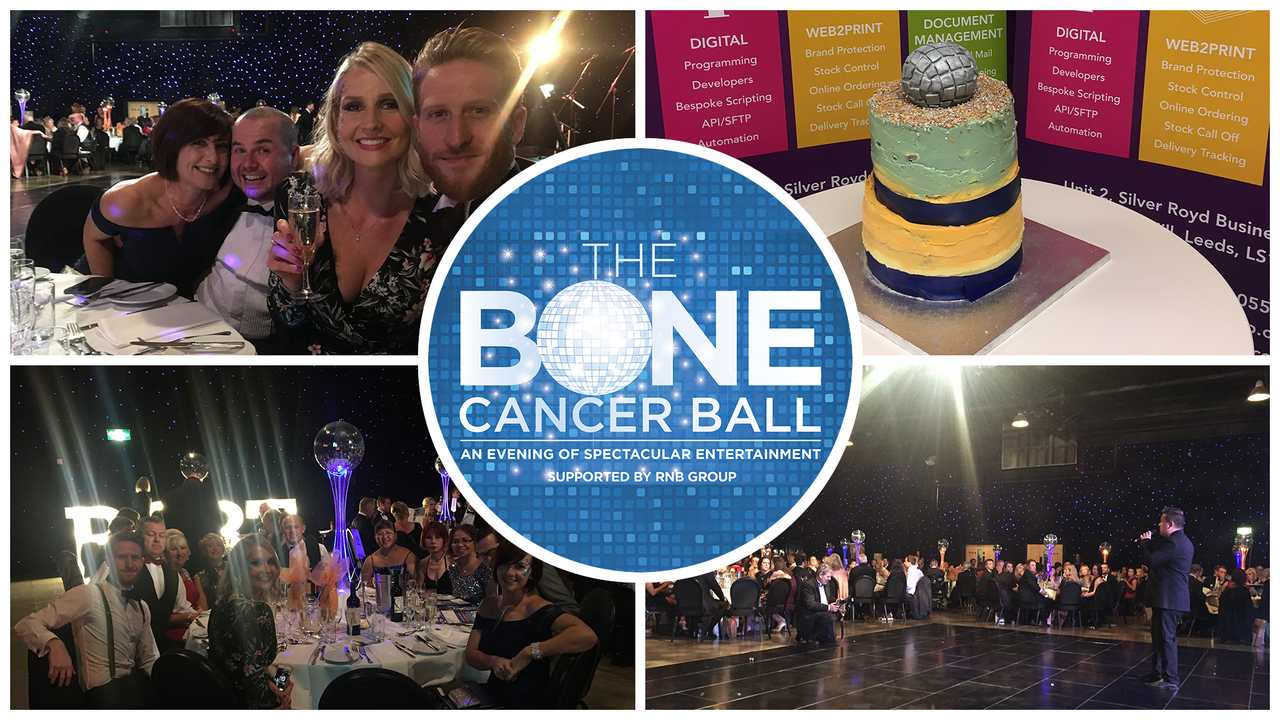 A spectacular evening sponsoring The Bone Cancer Ball