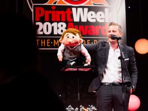 RNB Group at Print Week Awards Entertainment
