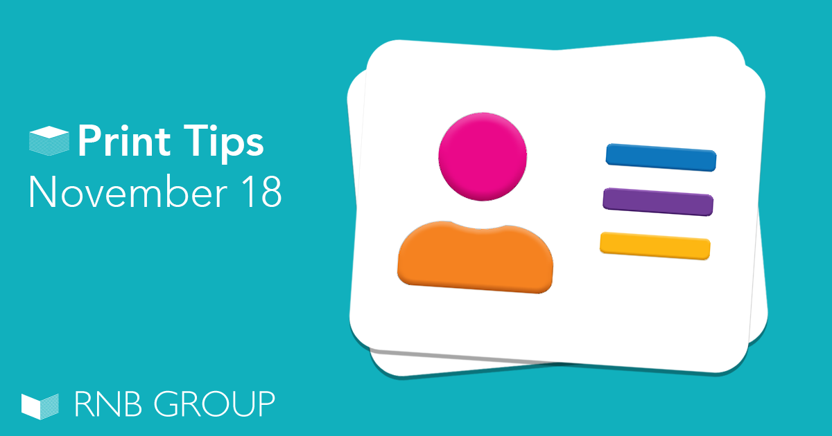Our top print tips November 18