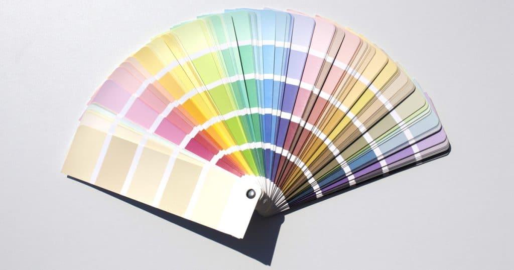 RNB Group Pantone Colour Chart