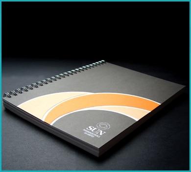 RNB Group Brochure Printing - Branded Notebook