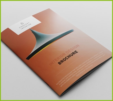 RNB Group Brochure Printing - saddle stitched brochure