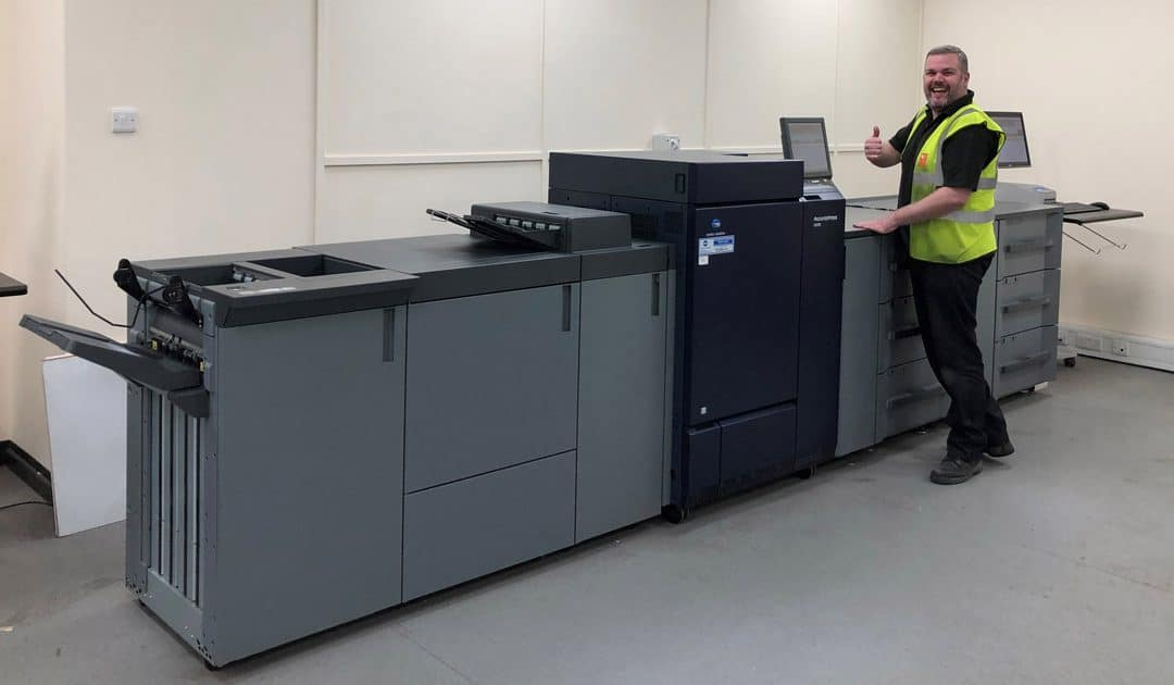 New Konica Minolta printers at RNB