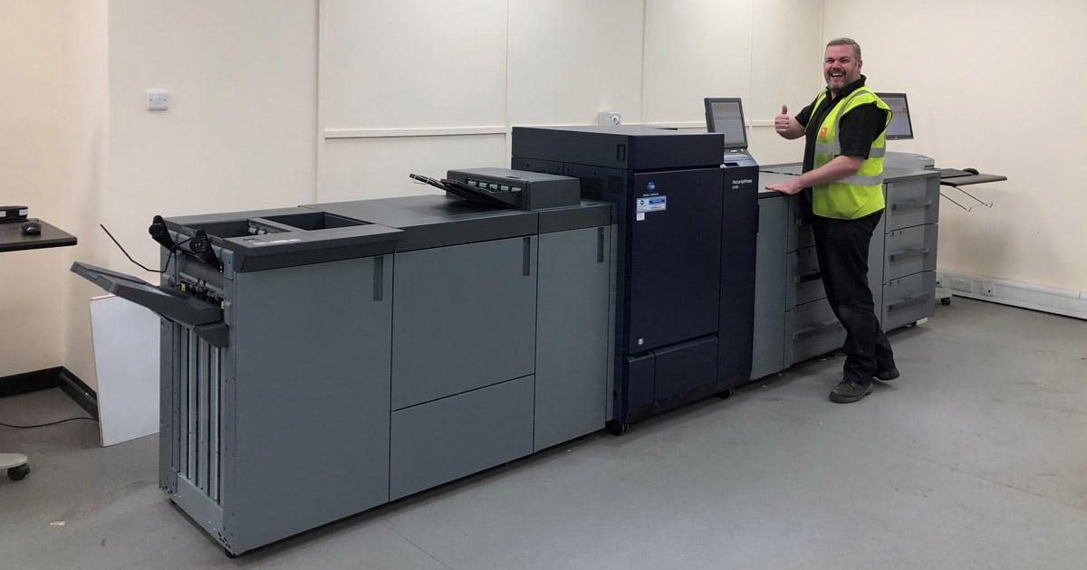 New Konica Minolta printers at RNB